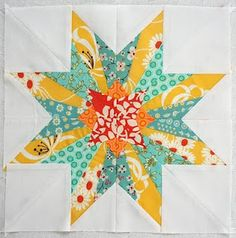 The pattern comes from the book 50 Fabulous Paper-Pieced Stars, by Carol Doak.