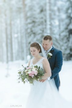 Winter wedding in snow. Wedding Photography, Wedding Dresses, Snow, Winter, Bride Dresses, Winter Time, Bridal Gowns, Weeding Dresses, Wedding Dressses