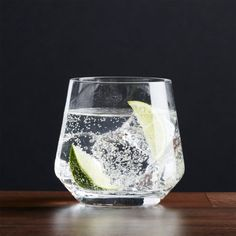 Tour Double Old-Fashioned Glass + Reviews | Crate and Barrel