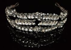 PERFECT Antique 1920s German silver Tiara by NeverNeverTraders