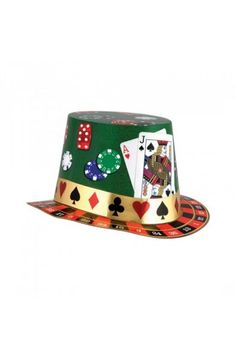 Casino Night Hi-Hat - Las Vegas Casino Party Ideas