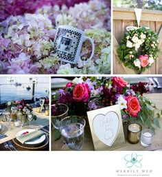Lake Tahoe Wedding, West Shore Cafe Wedding, Merrily Wed, Wedding Floral Wreath, Lakefront Wedding, Gold Table Numbers, Wedding Tablescape, Place Setting, Tahoe Lakefront Wedding