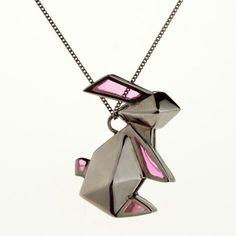 Origami Jewellery - Rabbit