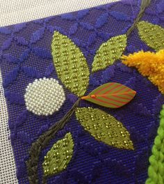 It's not your Grandmother's Needlepoint