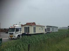 2 Chalets van chaletbouw goeree klaar voor transport Recreational Vehicles, Chalets, Camper Van, Campers, Single Wide