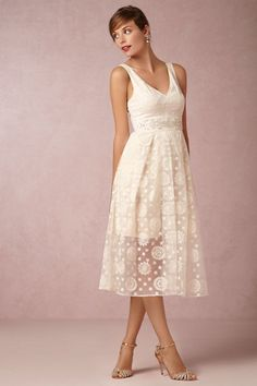 Yoana Baraschi IVory Katarina Dress | BHLDN