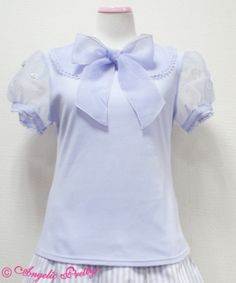 Cut-and-sew doll of glass (white)