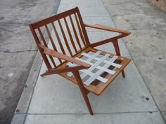 Pair Of Selig Z Chairs Mid Century Modern Danish Chairs Danish Teak Chairs  Teak Furniture Danish Modern Furniture Poul Jensen
