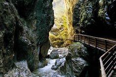 Wanderweg in der Klamm, St. Johann-Alpendorf im Pongau