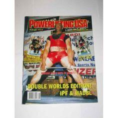 USA January 2000 Donnie Cole Powerlifting USA Magazine Co. Books