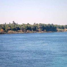 El Nilo Azul es un río de corriente muy rápida que obtiene mucha de su energía de las montañas por las que desciende.