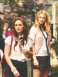 Serena and Blair Gossip Girl