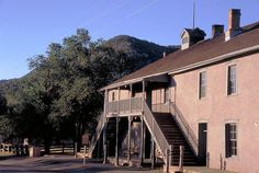 The Lincoln County jail, site of Billy the Kid's bloodiest escape