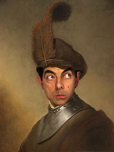Mr. Bean Hilariously Inserted into Historical Paintings - My Modern Met