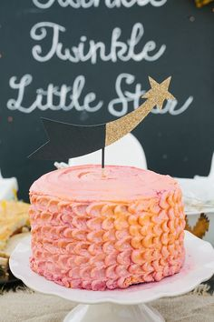 Twinkle twinkle little star party by 6th Street Design School | 100 Layer Cakelet