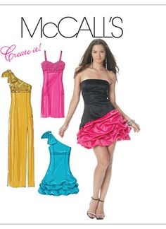 Prom, Evening & Bridal | McCall's Patterns