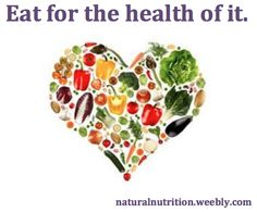Get answers to your nutrition questions at naturalnutrition.weebly.com