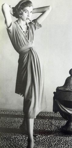Suzy Parker for Chanel, 1954. Photo by Henry Clarke.