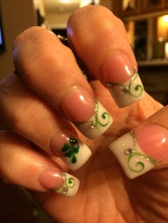 Saint Patrick S Day Nail Designs