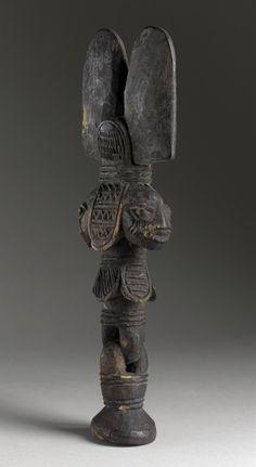 Dance Wand for Shango Devotee Africa, Nigeria, Yoruba peoples