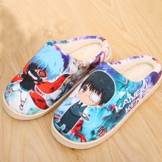 Camplayco Tokyo Ghoul Warm Winter Soft Slippers Indoor Shoes Cosplay Size:8 (US) * Click image to review more details.