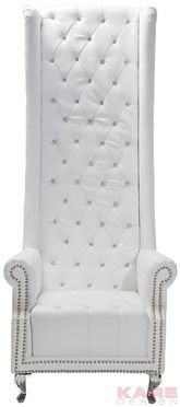 Arm Chair Queen White @karedesign
