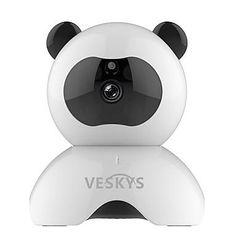 UNIQUE VESKYS® 960P Smart Panda WiFi IP Security Surveillance Camera