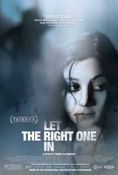 "I loved ""Let me in"". I'm buying the original Swedish movie."