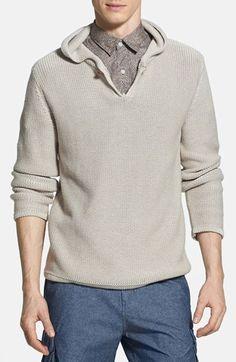 530064c63d Men's W.R.K 'Montauk' Knit Hoodie Men Sweater, Hoodie, Men's Knits, Hoodies