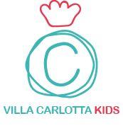 Villa Carlotta Kids. Il logo presente in tutti i souvenir firmati da Calembour Design.