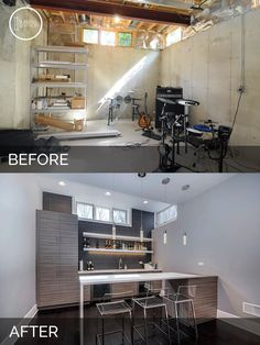 Before and After Basement Remodeling - Sebring Services                                                                                                                                                                                 More
