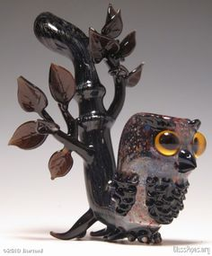 """Spotted this awesome Owl Sherlock over at Porcupine Spine! """"Bong of the Day"""" is where I feature a cool new smoking tool everyday. It is not always a bong though. It will include pipes, vaporizers, . Weed Pipes, Pipes And Bongs, Sherlock Pipe, Cool Pipes, Puff And Pass, Up In Smoke, Glass Pipes, Owls, Herbs"""