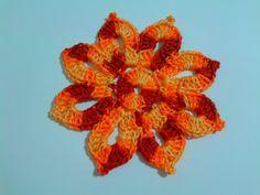 Flores de Crochê: Flor de Crochê Simples - Passo a passo Flowers, Plants, Simple Crochet, Magic Ring, Paper Craft Work, Crochet Flowers, Flora, Plant, Royal Icing Flowers