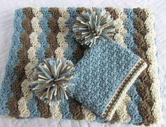 baby-boy-gift-set-crochet-baby-travel-blanket-and--2.jpg (1500×1152)