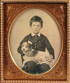 adorable dog!! adorable little boy too!! beautiful frame!!! Looooove this whole photo!!