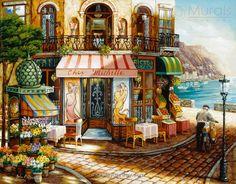 Chez Michelle - Image View   Murals