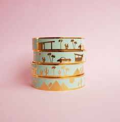 The special edition colourway for 2017, the Palm Springs City Bangle! A beautiful mint green, the perfect ...