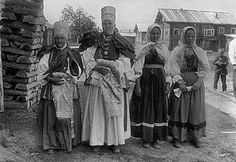 Фото. Праздничная и повседневная сельская одежда. Этнография. Старинный русский…