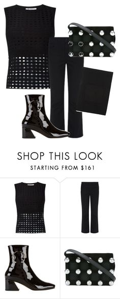 """""""Untitled #1631"""" by velvetgirl10 on Polyvore featuring T By Alexander Wang and Dorateymur"""