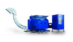 Brikpress® - Continuous labour saving operation.  http://www.compact-and-bale.com/equipment/briquetting-presses/brikpress/