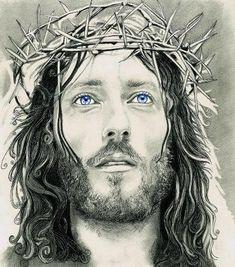desenho realista do rosto de jesus cristo - Pesquisa Google
