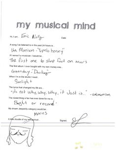 My Musical Mind: Foxy Shazam - Eric Nally
