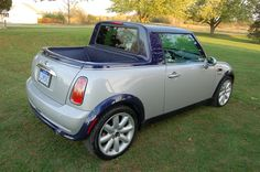 Mini Cooper truck- Since I loved my Mini and Jesse says we always need a truck maybe this is the compromise!