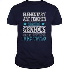 Awesome Elementary Art Teacher Shirt - #design t shirts #army t shirts. MORE INFO => https://www.sunfrog.com/Jobs/Awesome-Elementary-Art-Teacher-Shirt-117080775-Navy-Blue-Guys.html?60505