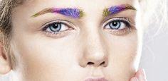 Beleza: Sobrancelha com as cores do arco-íris é aposta de marca americana