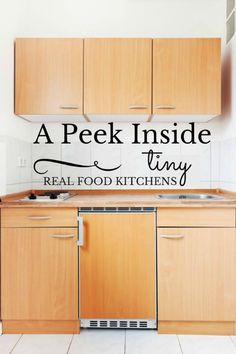You can still cook up a storm in a tiny kitchen! Here's a photo tour of our cabin kitchen and how we make it work.