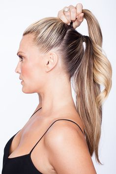 Ponytail Tutorial | Molly Sims