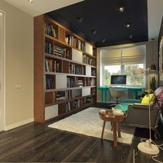 Pop Coloring Apartment Office In Artistic Interior Design For Artistic Apartment Interior Design Ideas