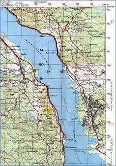 Awesome Lake Mjosa Norway Map