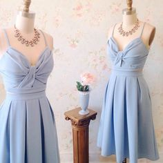 Cute Light Blue Two Piece Homecoming Dress,Spaghetti Strap Cross Party Dress,A Line Homecoming Dresses Dresses Short, Simple Dresses, Cute Dresses, Casual Dresses, Fashion Dresses, Formal Dresses, Elegant Homecoming Dresses, Two Piece Homecoming Dress, Prom Dresses Blue